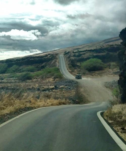 road to hana backside